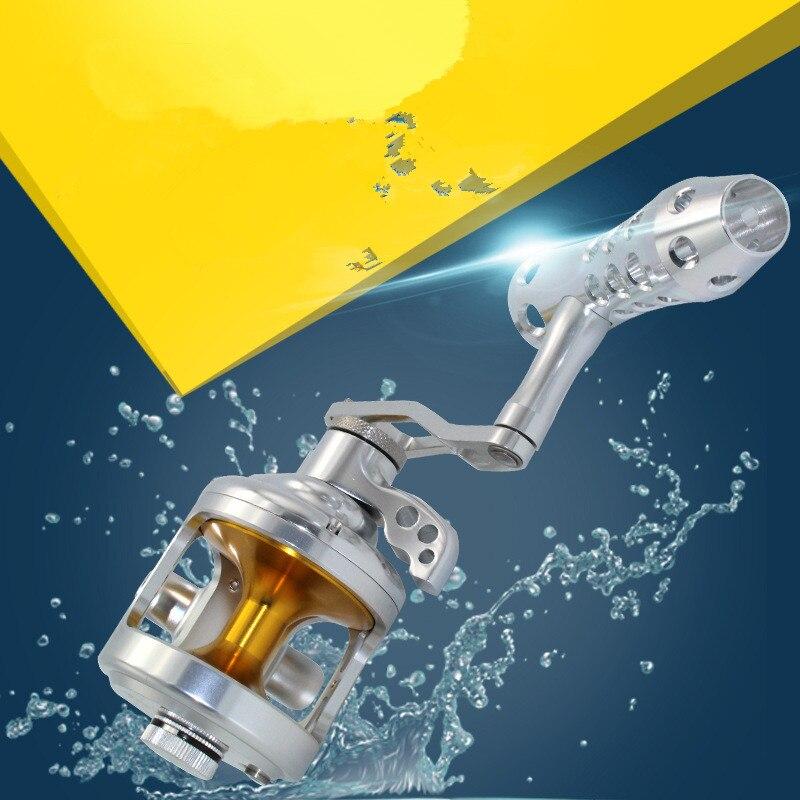 djuphavs CNC 9 + 2BB Fiskefartyg Trumtyp Båtrullar 20KG Kraftfull - Fiske