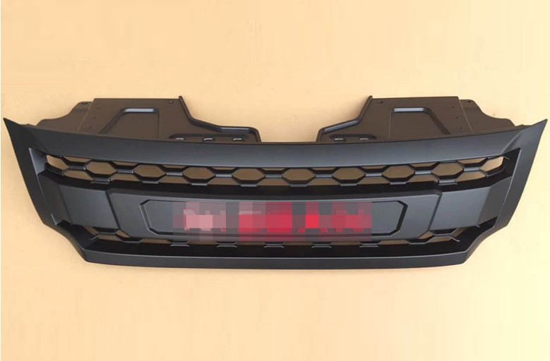 GRILLE de course modifiée GRILLE avant maille pare-chocs masque garnitures grilles de couverture adaptées pour NISSAN NAVARA NP300 D23 2015-2017 voiture GRILL