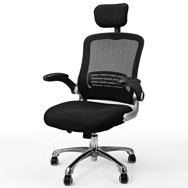 Alta qualidade de escritório cadeira patrão cadeira do computador ergonômico pano net cadeira de pessoal
