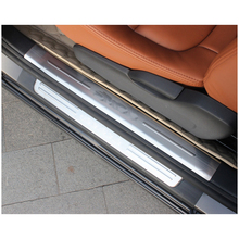 lsrtw2017 car styling Car threshold protection trims for volkswagen sharan 2011 2012 2013 2014 2015 2016 2017 2018