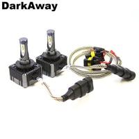 DarkAway D1S D3S LED Bulb Super Bright D1R D1C D3R D3C Car Headlights 72W 8000Lm Same