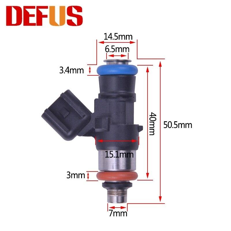 8Pcs 42LB Fuel Injectors for Chevrolet Corvette Camaro Pontiac G8 LS2 EV6 3kpa 1000cc//min 12 Holes 50.5mm 0280158051