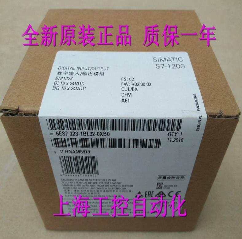 100%  Originla New  2 years warranty   6ES7223-1BL32-0XB0  SM1223 Digital Input Output Module 6ES7 223-1BL32-OXBO100%  Originla New  2 years warranty   6ES7223-1BL32-0XB0  SM1223 Digital Input Output Module 6ES7 223-1BL32-OXBO