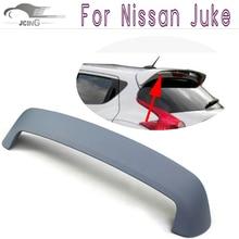 Juke ABS Gray Primer rear boot lip Spoiler Car accessories Trunk lip for Nissan juke 2011-2013