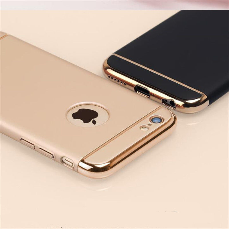 Luxury Ultra Thin Shockproof Cover Coque Phone Case for iPhone 6 6s 7 Plus 360 Full Body Coverage Phone Cases For i6 i6s i7 Plus