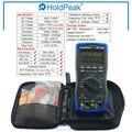 Multimetro HoldPeak HP-770D Auto Range multímetro Digital True RMS/frecuencia/prueba de temperatura y bolsa de transporte