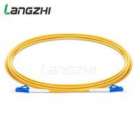 10 шт. LC UPC к LC UPC Simplex 2,0 мм 3,0 мм ПВХ одномодовый волоконно-оптический кабель Перемычка волокно патч-корд fibra optica