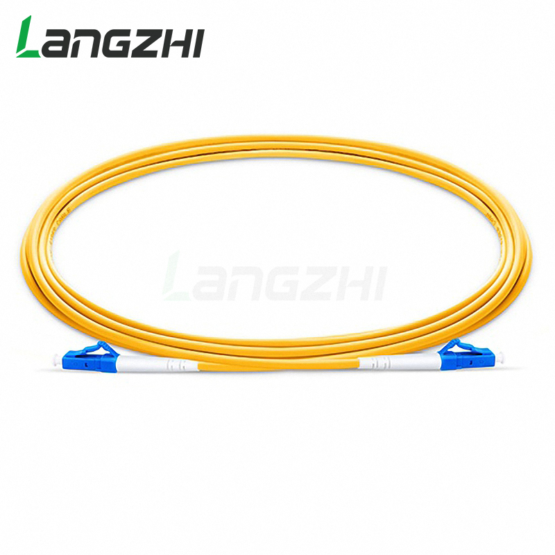 10 Pcs LC UPC To LC UPC Simplex 2.0mm 3.0mm PVC  Single Mode Fiber Patch Cable  Jumper Fiber Patch Cord Fibra Optica
