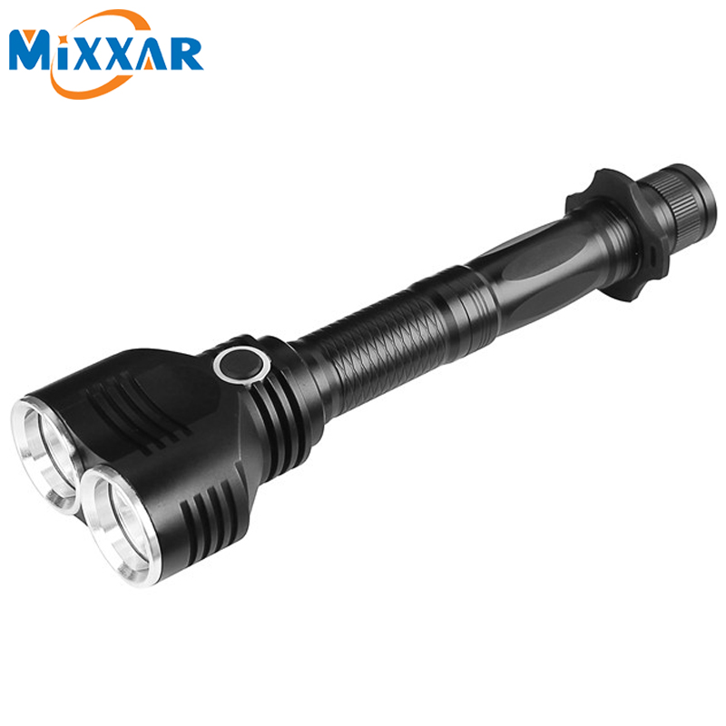 ZK20 2T6 CREE XM-L T6 8000LM LED Flashlight 5 Modes Torch Powerful Tractical Flshlight  Camping Hunting Lamp Lanteran Torche ruzk40 led flashlight v5 cree xm l t6 5000lumens 5 modes zoomable torch tactical flashlight waterproof camping hunting lamp