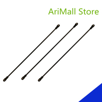 6pcs Delta Kossel 3D Printer 215/290mm Length Parallel Arm Fisheye Carbon Rod Upgrade Diagonal Push Rods