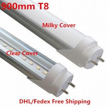 50 Uds. 900mm 14W T8 LED tubo fluorescente LED tubos de luz de ahorro de energía 85-265V blanco cálido/frío DHL/Fedex envío gratis Lámpara de tubo LED T5 4W 8W 12W 14W 16W 220V tubo fluorescente de plástico PVC 6W 10W 30/60cm lámpara de pared LED blanca cálida fría