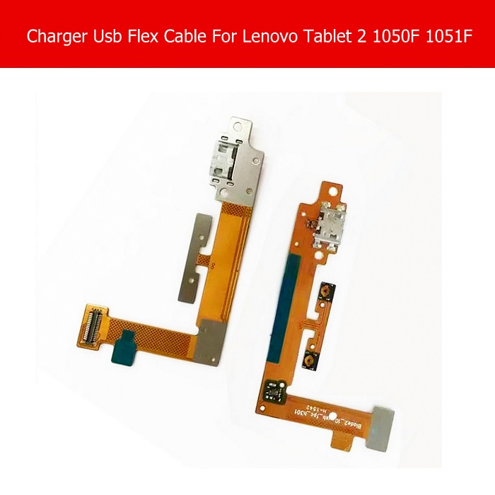 Genuine USB Charging Connector Flex Cable For Lenovo Yoga tablet 2 1050F 1051F USB Charger Flex Cable Blade2_10_usb_fpc_h301 micro usb charging port charger dock for lenovo yoga tablet b8080 plug connector flex cable board replacement