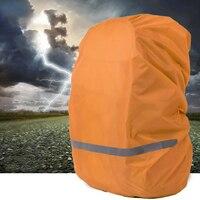 High Rating Reflective Light Raincoat Backpack Rain Cover Waterproof Rain Poncho Ultralight Shoulder Bag Backpack Raincoat