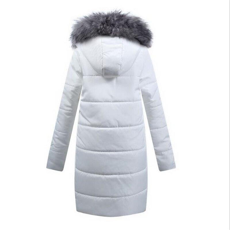 Chaud Femmes Coton Vêtements Manteaux Laineux Moyen Pictur D'hiver Chapeaux Veste blanc Longueur Manteau Grand Col Color1 Et Épaisse Off ECq0x8aw