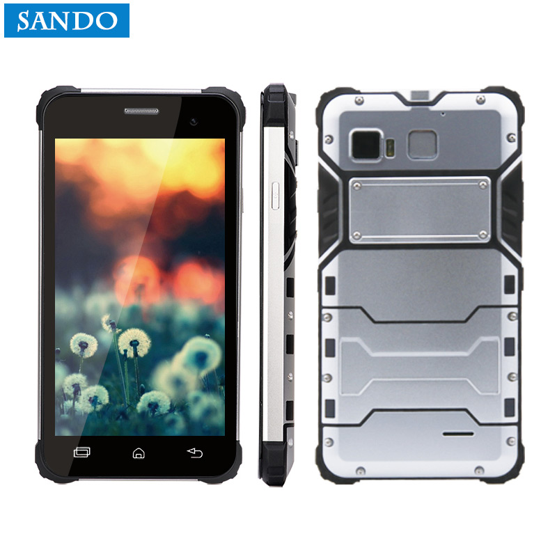 Jeasung D6 En Plein Air Téléphone Robuste IP68 Étanche Double Sim 5 pouce Lecteur NFC Smartphone Android 6.0 avec Fringerprint
