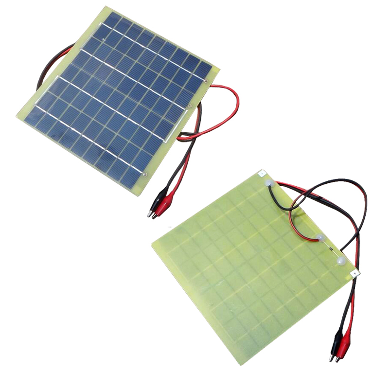 Hot sale Universal Portable 5W 18V 290mAh Solar Panel Solar Cells Battery Phone Charger Battery Mobile Cell Phone Power