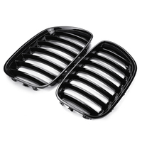 Pair Front Hood Kidney Sport Grills Grille For BMW E53 X5 2000 2001 2002 2003 Front Bumper Grille Car Styling
