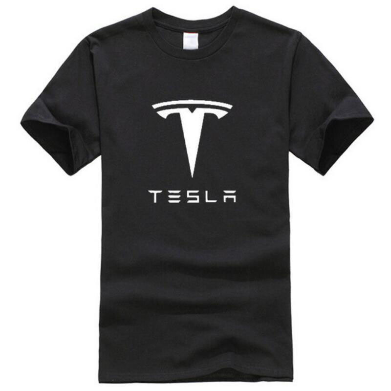 New Tesla Men   T     Shirts   Short Sleeve Round Neck Ringer Hip hop Printed cotton Male Tees Casual Boy   t  -  shirt   Tops many colors