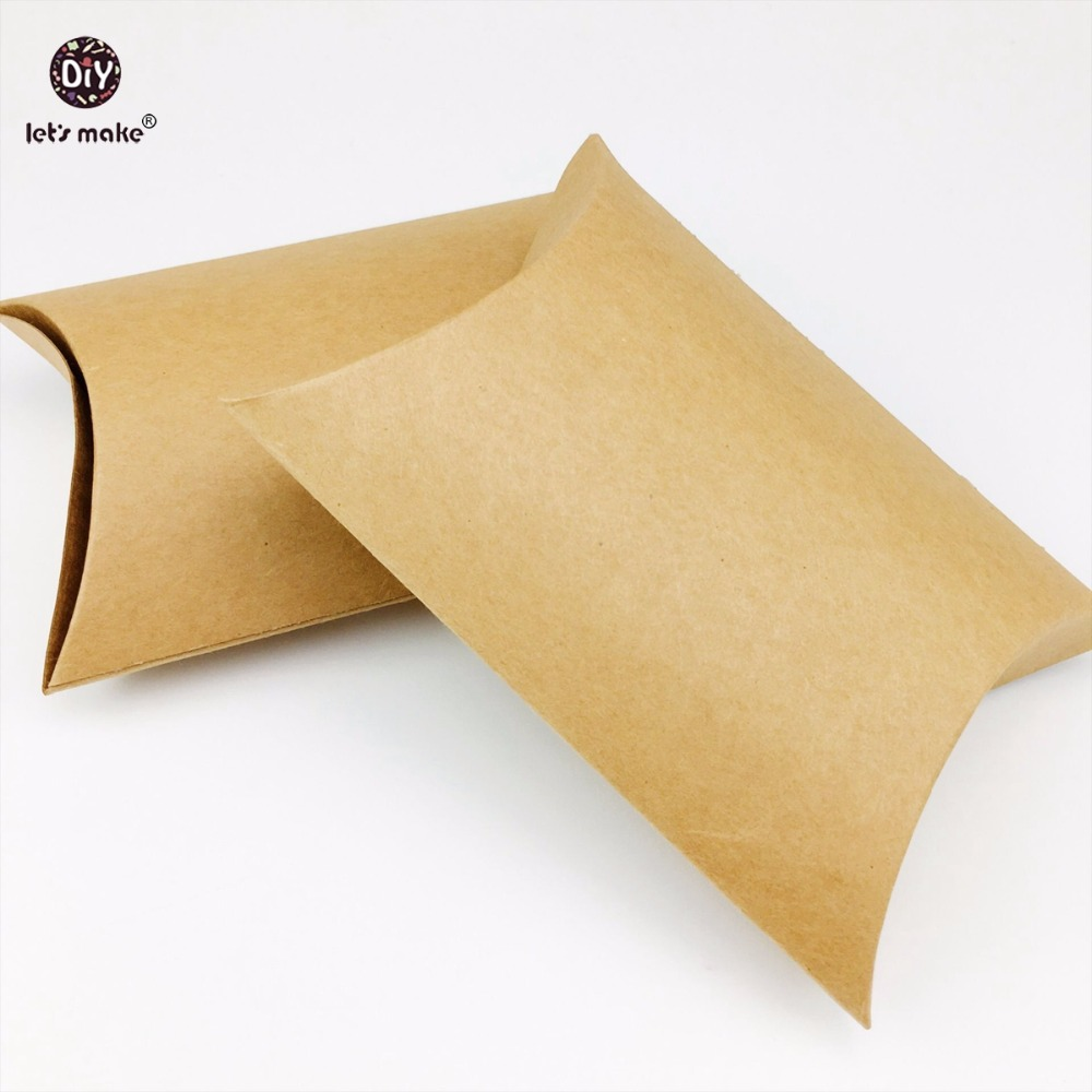 Lets Make 25pc (10.5*10.4) Baby Gift/Merchandise/Packing Box Kraft Paper Wedding Wrapping Jewelry Pendants Accessories Box