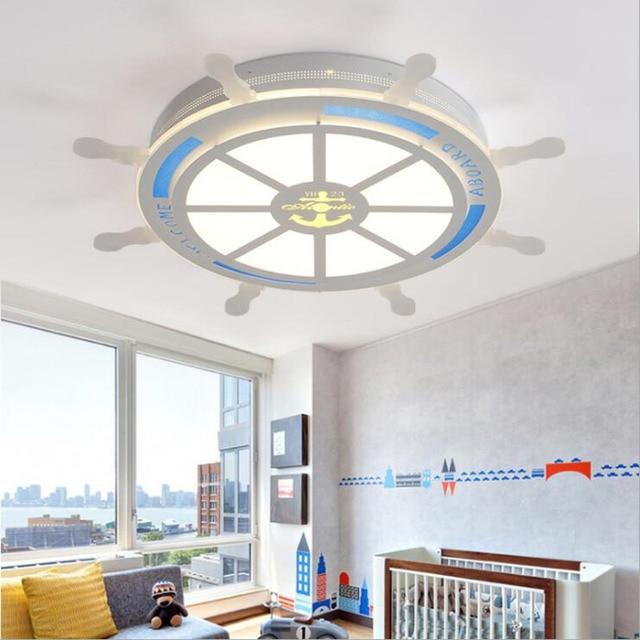 Einfache kinder lampe led deckenleuchte moderne wohnzimmer lichter ...