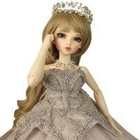 Ручной работы Sd ребенка BJD куклы 4 точки для маленьких девочек свадебные полная девушка день рождения творческий подарок кукла