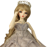 Handmade Sd Baby BJD Doll Dolls 4 Points Girl Baby Wedding Bride Full Girl Birthday Creative Gift Doll