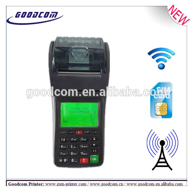 GOODCOM Own design Portable Wireless Printer supports WIFI, GPRS, SMS can print email order