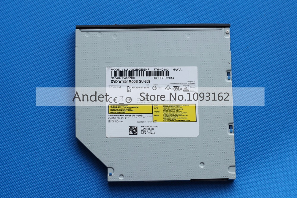 New Genuine SU208 SU-208 DVD Optical Drive 8X DVD Burner 9.5mm Super Slim Laptop Internal SATA Drive dvd writer