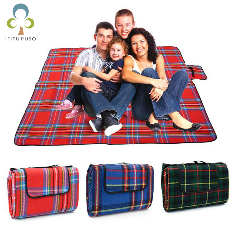 3 Size Waterproof Foldable Outdoor Camping Mat Picnic Mat ...