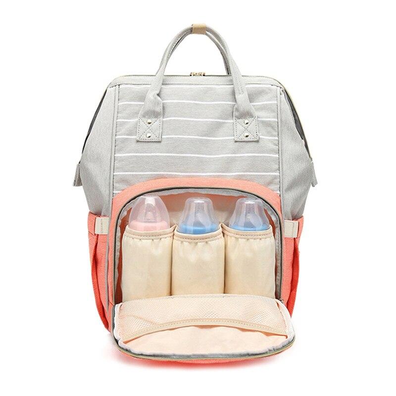 Nesitu High Quality Large Oxford Mommy Diaper Bag Baby Nappy Bag Nursing Bag Fashion Travel Backpack Care Bag for Mother Kid M28