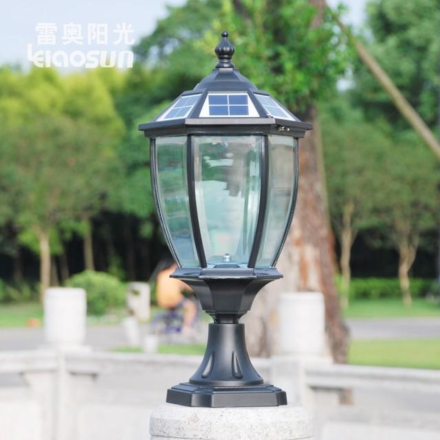 Outdoor Wall Light Bright: Super Bright Headlights Column Can Post Lights Wall