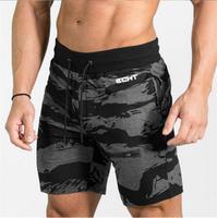 2017 Mens Fitness Bodybuilding Camouflage Brand Zipper Patchwork Sweatpants Gyms Pants Men Summer Fashion Leisure Joggers