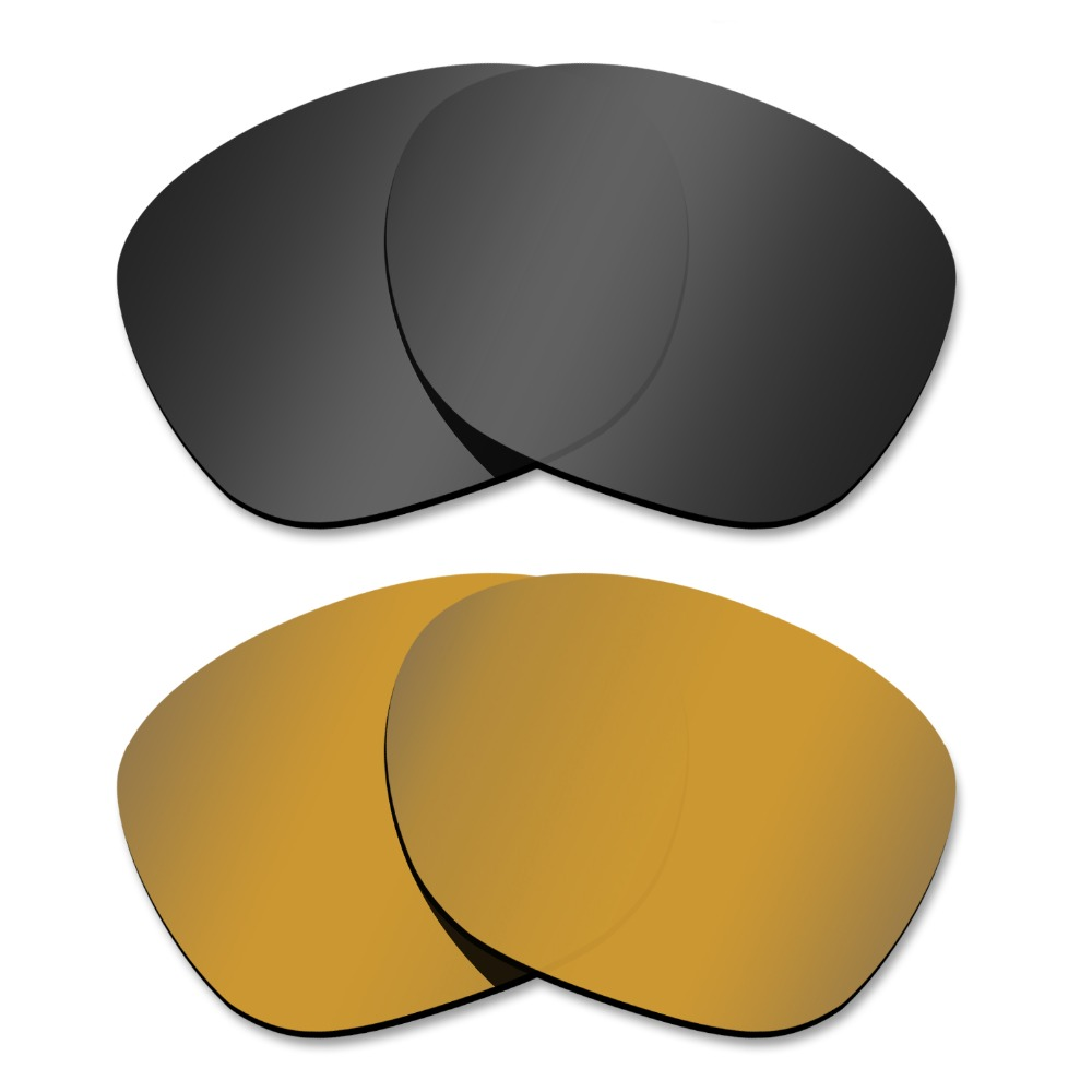 Glintbay 2 Pairs Polarized Sunglasses Replacement Lenses
