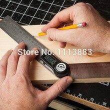 Digital Protractor Goniometer Ruler 2*300mm 360 Degrees Measurer Angle Finder Meter