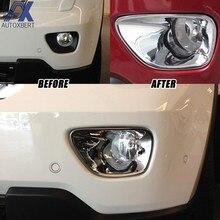 AX-Lámpara de luz antiniebla cromada para Jeep Grand Cherokee, accesorios de decoración de modelos, 2011, 2012, 2013