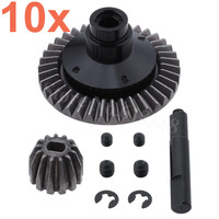 20pcs Metal Diff Main & Bevel Gears 38T & 13T for 1/10 Axial SCX10 RC Rock Crawler Truck Hop Up Parts AX30392 Replacement