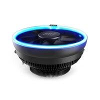 PcCooler 12cm LED Blue Aperture Cpu Cooling Fan PWM Silent Cpu Cooler For AMD AM3 AM4