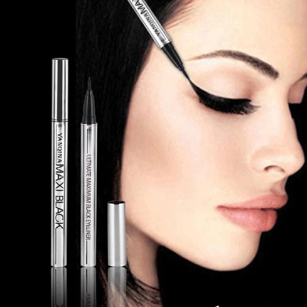 1PC Professional Women Ultimate Black Liquid Eyeliner Long lasting Waterproof Quick dry Eye Liner Pencil Pen Makeup Beauty Tools