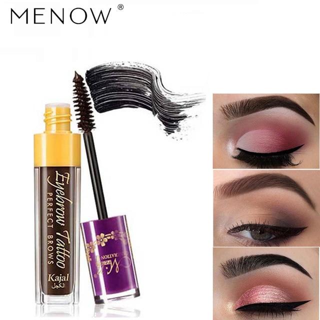 Aliexpress Buy Menow Brand Waterproof Liquid Henna Eyebrow Dye