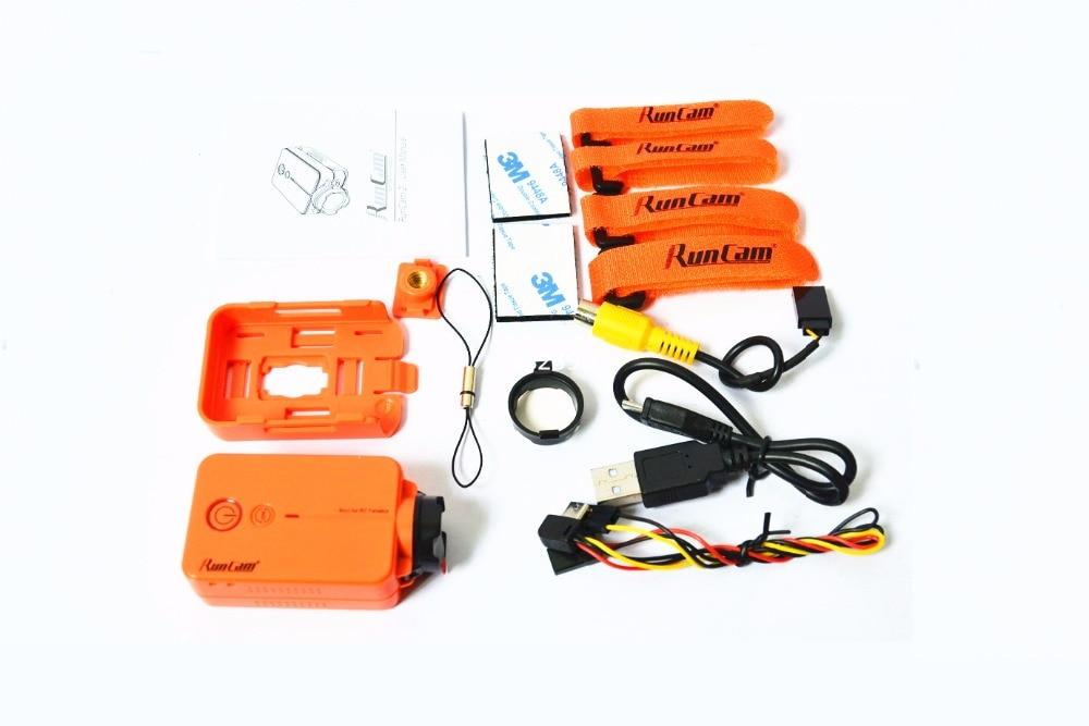 RunCam2 1080P 60fps FPV HD mini video camera for DIY mini drone QAV250 / Nighthawk 250 / RD290 multirotor dji inspire 2 hd fpv with cinecore 2 0 camera
