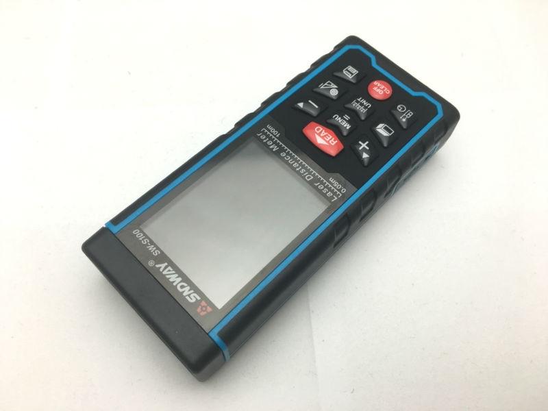 Entfernungsmesser Englisch : Sndway hochpräzise digitale laser entfernungsmesser farbe display