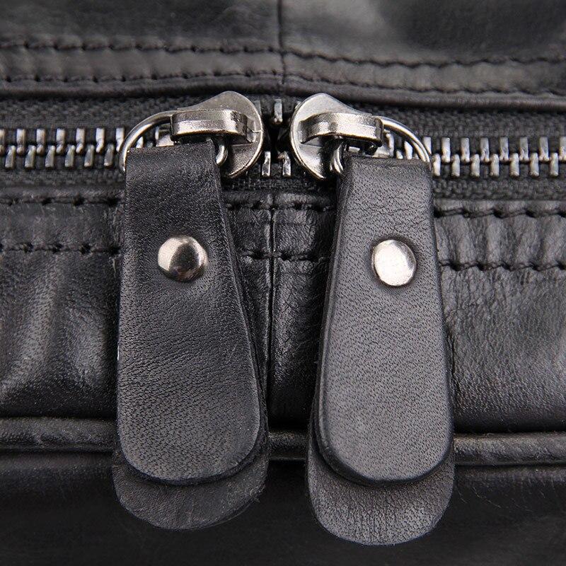 Leder Klassische Echtes Menschen Mode Jmd Design Unisex Junge brown Rucksack grey Black Für Tasche Neuheiten 7355 Schultasche tUwxEEq5B