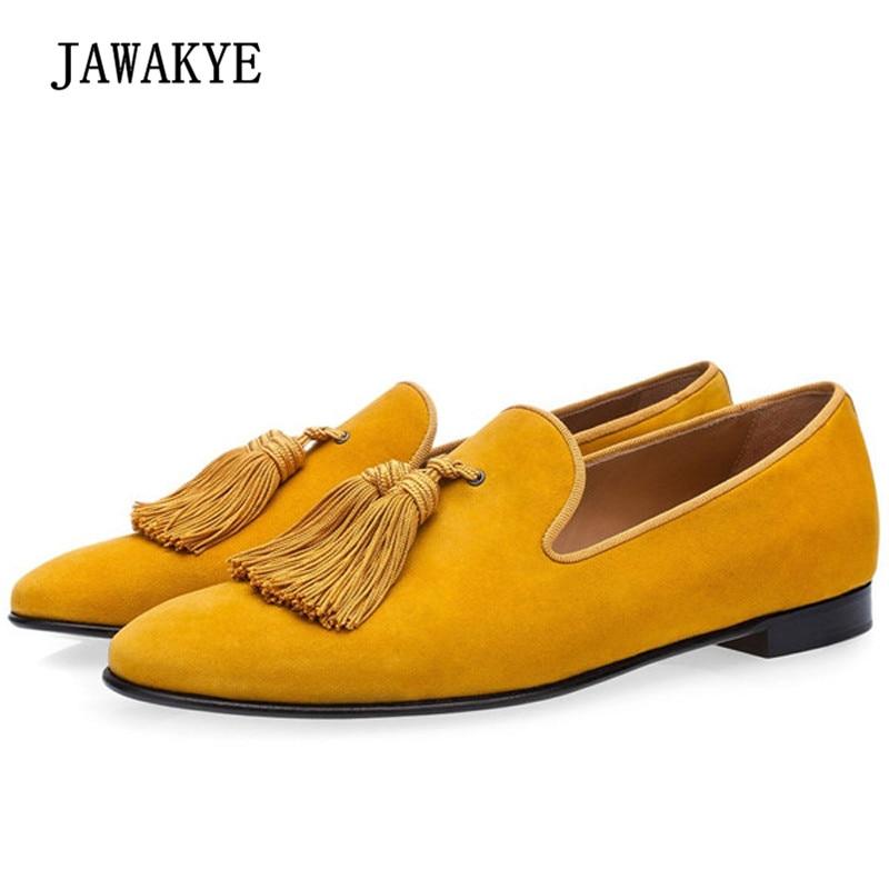 cf9cff1282 2018 luxury horse hair rivet shoes men round toe leopard print tassel  fringe mens shoes casual
