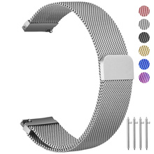 20mm 22mm Milanese Loop For Samsung Gear S3 Frontier/Classic Gear S2 Watch Strap Galaxy Watch 46mm 42mm Stainless Steel Band laforuta milanese loop strap for gear s3 frontier classic watch band 22mm 20mm 18mm stainless steel mesh samsung galaxy 46mm