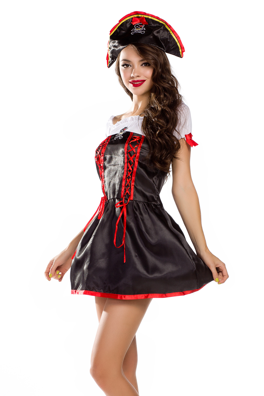 new 2014 womens adult classic halloween costumes sexy petite pirate costume fancy party dress roleplay costume in anime costumes from novelty special use