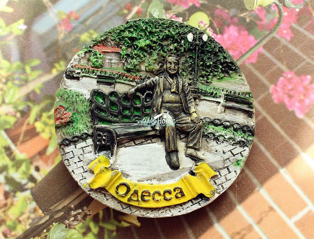Odessa, Ukraine Tourism Travel Souvenir 3D Resin Decorative Fridge Magnet Craft GIFT