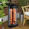 220V 800W Portable Tower Carbon Fiber Heater Infared Heaters Electric Indoor Outdoor House Appliances With Tip
