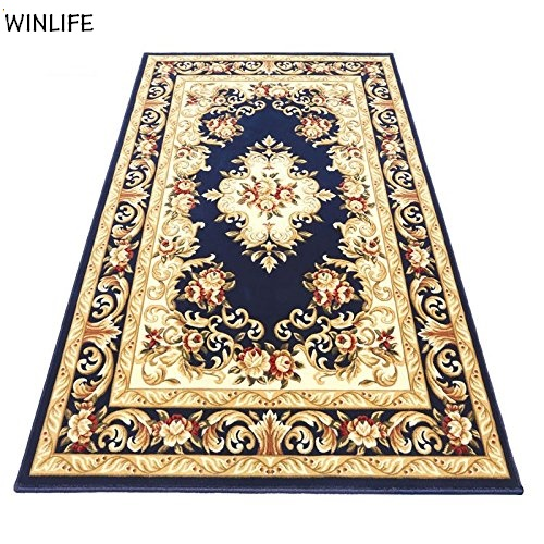 Aliexpress Com Winlife Luxury Brand European Royal Rugs And Carpets For Home Living Room Blue Rug England Fl Mat From Reliable Carpet