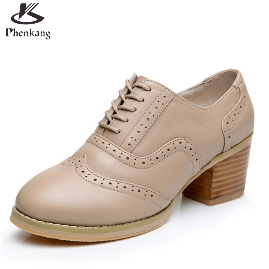 ФОТО Cow leather big woman shoes US size 9 designer vintage High heels round toe handmade Nude pumps 2017 sping with fur
