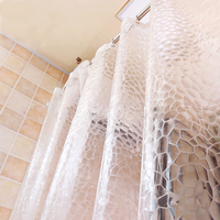 Bath Shower Curtain Home Decoratio Bathroom 2017 Accessories Villa With Swimming Pool Personalized Solid Waterproof Bath